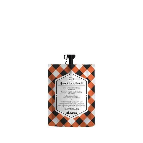 Davines - Davines The Quick Fix Circle Hızlı Etkili Çok Yönlü Saç Bakım Maskesi 50 ml